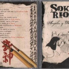 CDs de Música: SOKO RIOS - ANGELES Y DEMONIOS - CD ALBUM DE 2006 RF-2305 , BUEN ESTADO. Lote 192408866