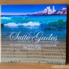 CDs de Música: PACO CEPERO -SUITE GADES . Lote 192417965