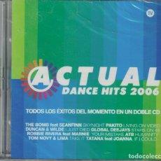 CD de Música: ACTUAL DANCE HITS 2006 - VARIOS (DOBLE CD, BIT MUSIC 2006, PRECINTADO). Lote 192441071