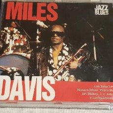 CDs de Música: MILES DAVIS / JAZZ BLUES / CD - PLANETA AGOSTINI / 10 TEMAS / DE LUJO.. Lote 192471556