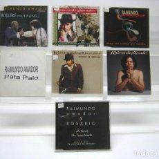 CDs de Música: LOTE 7 CD RAIMUNDO AMADOR. Lote 192544912