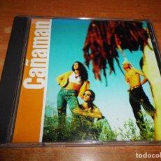 CDs de Música: CAÑAMAN CAÑAMAN CD ALBUM DEL AÑO 1997 CONTIENE 13 TEMAS ALEJO STIVEL TITO AVILA TEQUILA MUY RARO. Lote 192587362