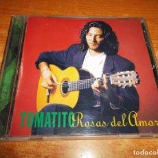 CDs de Música: TOMATITO ROSAS DEL AMOR CD ALBUM AÑO 1997 8 TEMAS CAMARON DE LA ISLA KETAMA MUY RARO. Lote 192587787