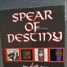 CDs de Música: SPEAR OF DESTINY. CAJA 4 CD THE VIRGIN YEARS.. Lote 192648817