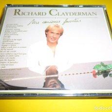CDs de Música: RICHARD CLAYDERMAN / MIS CANCIONES FAVORITAS / DELPHINE / WARNER RECORDS / 2 CD. Lote 192650083