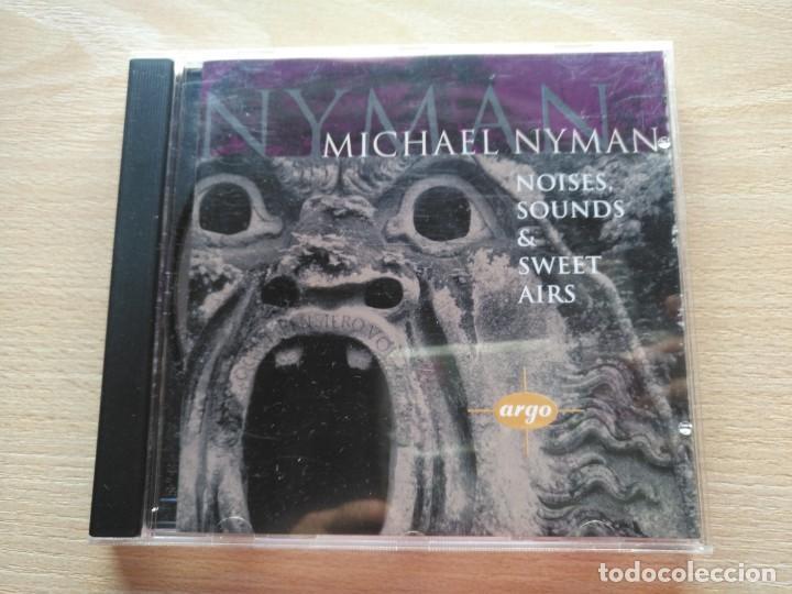 CD MICHAEL NYMAN - NOISES SOUNDS & SWEET AIRS - DECCA RECORDS 1995- RARO (Música - CD's New age)