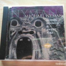 CDs de Música: CD MICHAEL NYMAN - NOISES SOUNDS & SWEET AIRS - DECCA RECORDS 1995- RARO. Lote 192593013