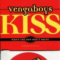 CD de Música: VENGABOYS / KISS (CD SINGLE PROMO 1999). Lote 219374803