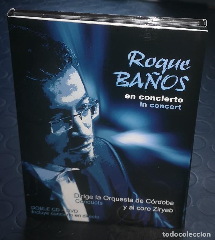 ROQUE BAÑOS EN CONCIERTO - 2 CDS+DVD (Música - CD's Clásica, Ópera, Zarzuela y Marchas)