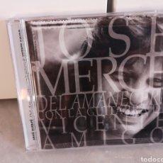 CDs de Música: JOSÉ MERCÉ DEL AMANECER...CON LA GUITARRA DE VICENTE AMIGO. Lote 192724295