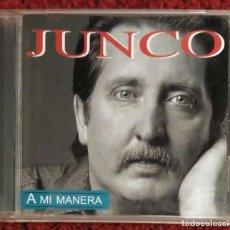 CDs de Música: JUNCO (A MI MANERA) CD 1999. Lote 192725885