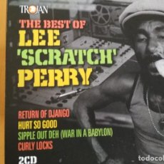 CDs de Música: LEE SCRATCH PERRY THE BEST OF LEE 'SCRATCH' PERRY 2XCDS LIBRETO. Lote 192726463