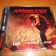 CDs de Música: ANNIHILATOR LIVE AT MASTERS OF ROCK CD ALBUM PRECINTADO DEL AÑO 2009 ALEMANIA 14 TEMAS TRASH METAL. Lote 192728792