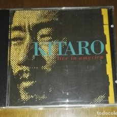 CDs de Música: KITARO LIVE IN AMERICA 1991. Lote 192807318