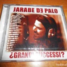 CDs de Música: JARABE DE PALO GRANDI SUCCESSI CD PRECINTADO ITALIA 2 TEMAS CANTADOS EN ITALIANO 17 TEMAS RARO 2003. Lote 192829966