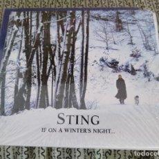 CDs de Música: STING CD IF ON A WINTERS NIGHTS CD IMPORTADO DE ARGENTINA CERRADO DE FABRICA. Lote 192833435