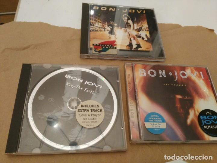 BON JOVI - RUNAWAY - 7800º FAHRENHEIT - KEEP THE FAITH (Música - CD's Heavy Metal)