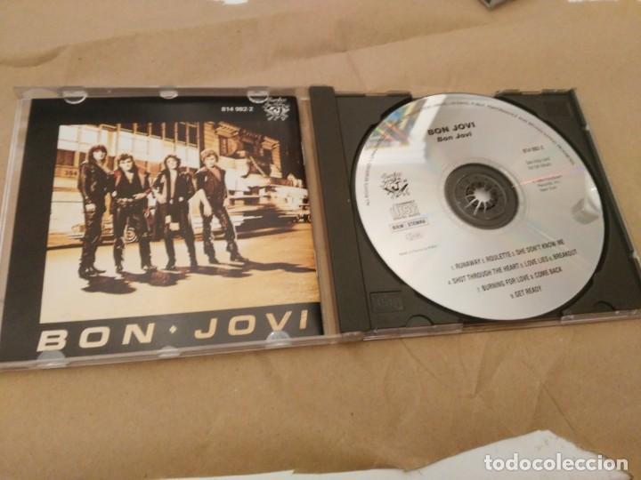 CDs de Música: BON JOVI - RUNAWAY - 7800º FAHRENHEIT - KEEP THE FAITH - Foto 4 - 192845593