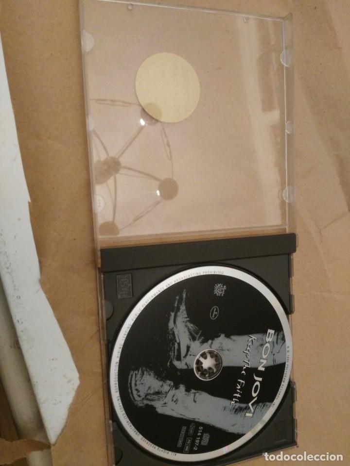 CDs de Música: BON JOVI - RUNAWAY - 7800º FAHRENHEIT - KEEP THE FAITH - Foto 6 - 192845593