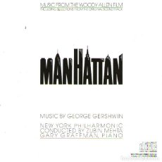 CDs de Música: B.S.O. MANHATTAN (DE WOODY ALLEN) - BY GEORGE GERSHWIN- 18 TRACKS - CBS RECORDS 1979. Lote 192876215
