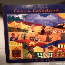 CDs de Música: CD CAIRO TO CASABLANCA PUTUMAYO. Lote 192914257