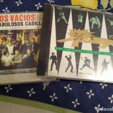 CDs de Música: LOS FABULOSOS CADILLACS -LOTE 2 CDS EL LEON Y VASOS VACIOS . Lote 192919012
