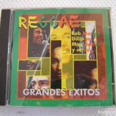 CDs de Música: REGGAE - GRANDES EXITOS - BOB MARLEY, DILLINGER, MAX ROMEO Y OTROS - CD - PR. Lote 192962918