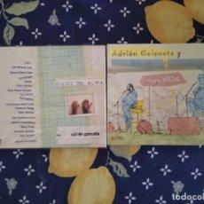 CDs de Música: ADRIAN GOIZUETA LOTE 2 CDS DUOS DEL ALMA Y VIVA LA VIDA CON MEJIA GODOY IMPORTADOS. Lote 192977877