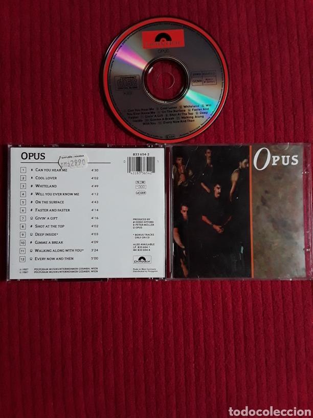 OPUS: S/T. CD AOR 1987 POLYDOR. (Música - CD's Rock)