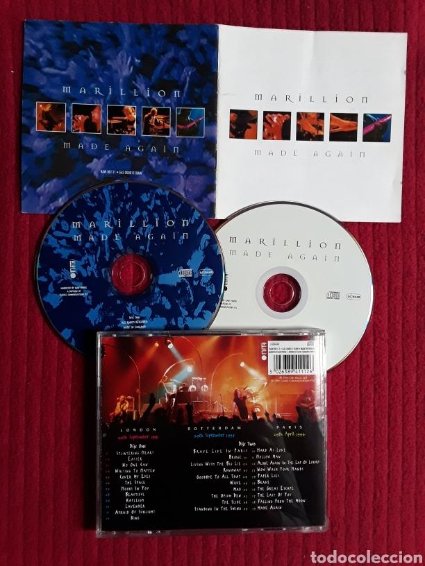 MARILLION: MADE AGAIN. 2CDS LIVE 1996 EMI MUSIC. (Música - CD's Rock)