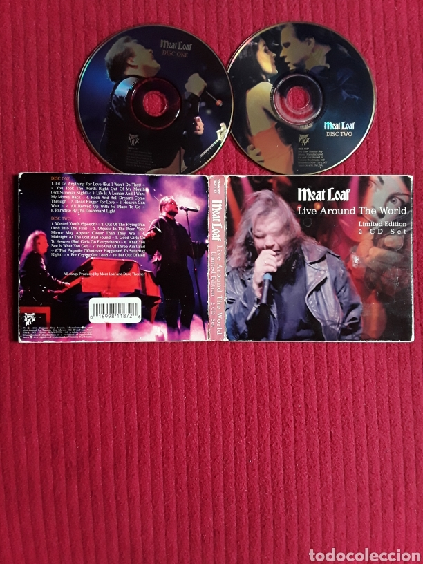MEAT LOAF: LIVE AROUND THE WORLD. 2CD'S LIMITED EDITION. 1996. (Música - CD's Rock)