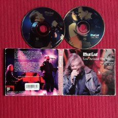 CDs de Música: MEAT LOAF: LIVE AROUND THE WORLD. 2CD'S LIMITED EDITION. 1996.. Lote 193040958