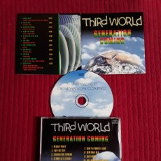 CDs de Musique: THIRD WORLD: GENERATION COMING. CD 1999.. Lote 193086495