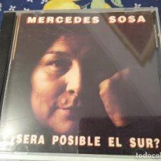CDs de Música: MERCEDES SOSA CD SERA POSIBLE EL SUR? CD IMPORTADO -DESCATALOGADO. Lote 193181257