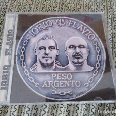 CDs de Música: IORIO Y FLAVIO - CD PESO ARGENTO DESCATALOGADO. Lote 193186893