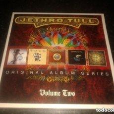 CDs de Música: JETHRO TULL: ORIGINAL ALBUM SERIES - 5 CDS BOX SET - VOLUME TWO *IMPECABLE COMO NUEVO*. Lote 193283742