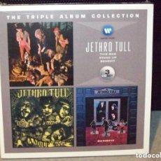 CDs de Música: JETHRO TULL: THE TRIPLE ALBUM COLLECTION 3 CD BOX SET *IMPECABLE COMO NUEVO*. Lote 193283966