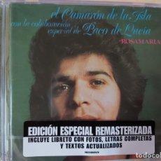 CDs de Música: CAMARÓN DE LA ISLA -ROSAMARÍA, CON LA COLABORACIÓN ESPECIAL DE PACO DE LUCIA (CD) PRECINTADO. Lote 193288233