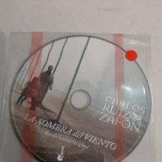 CDs de Música: LA SOMBRA DEL VIENTO BANDA ORIGINAL CARLOS RUIZ ZAFON. Lote 193296605