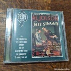 CDs de Música: THE JAZZ SINGER (EL CANTANTE DE JAZZ), BANDA SONORA CD- BSO. Lote 193298788
