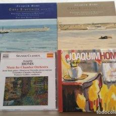 CDs de Música: LOTE DE 4 CDS DE JOAQUIM HOMS.. Lote 147173802