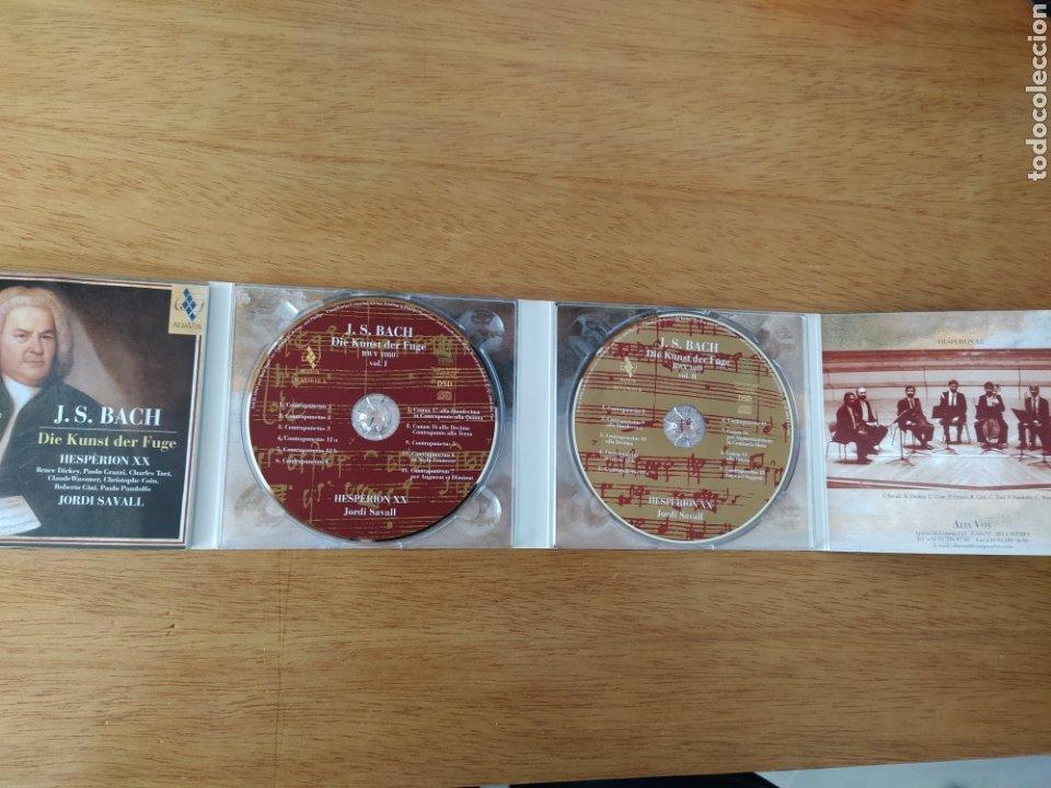 CDs de Música: J. S. Bach: El arte de la fuga (Jordi Savall, 2 Vols.) - Foto 4 - 193327680