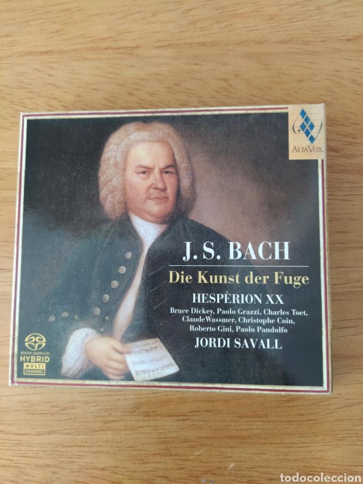 J. S. BACH: EL ARTE DE LA FUGA (JORDI SAVALL, 2 VOLS.) (Música - CD's Clásica, Ópera, Zarzuela y Marchas)