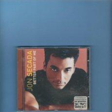 CDs de Música: CD - JON SECADA - BETTER PART OF ME. Lote 193334522