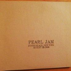 CDs de Música: PEARL JAM. JONES BEACH NEW YORK AUGUST 25 2000. DOBLE CD.. Lote 193432817