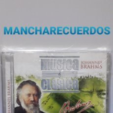 CDs de Música: CD JOHANNES BRAHMS MUSICA CLASICA. Lote 149000825