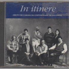 CDs de Música: GRUPO DE CAMARA UNIVERSIDAD DE SANTIAGO - IN ITINERE / CD ALBUM DE 1995 / MUY BUEN ESTADO RF-4537. Lote 193442256