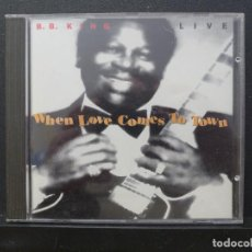 CDs de Música: CD - BB KING - WHEN LOVE COMES TO TOWN. Lote 193442355