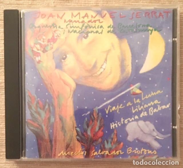 JOAN MANUEL SERRAT - ORQUESTA SINFÓNICA DE BARCELONA - VIAJE A LA LUNA (Música - CD's Otros Estilos)