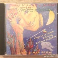 CDs de Música: JOAN MANUEL SERRAT - ORQUESTA SINFÓNICA DE BARCELONA - VIAJE A LA LUNA. Lote 193549268
